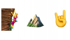 Introducing the First Climbing Emoji